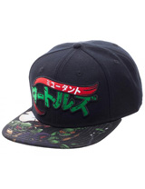 Teenage Mutant Ninja Turtles Manga Sublimated Bill Snapback