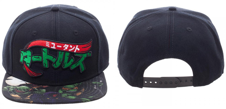 TMNT Manga Sublimated Bill Snapback