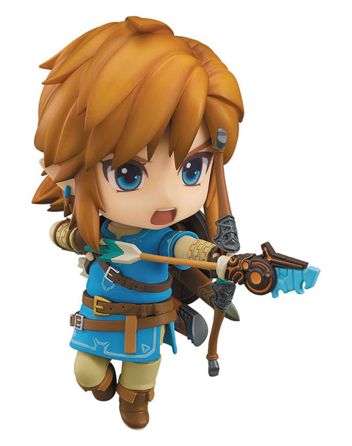 Legend of Zelda Breath of the Wild Link Nendoroid