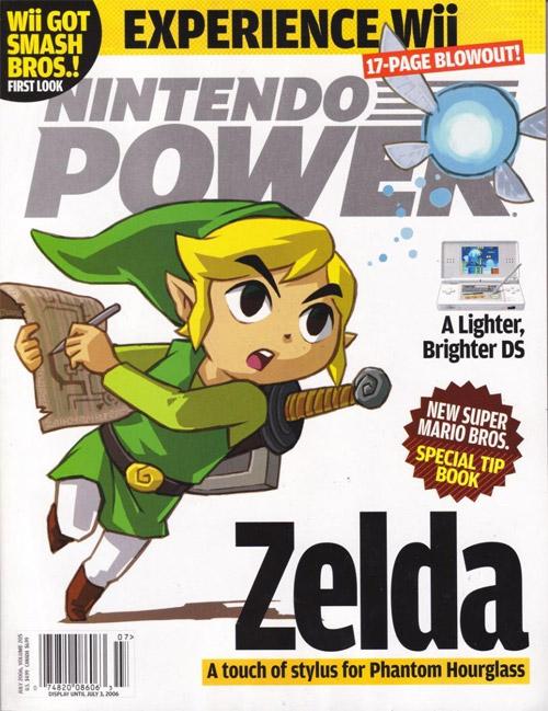 Nintendo Power Volume 205 Zelda Phantom Hourglass