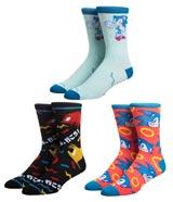 Sega Console Crew Socks 3-Pair Box Set
