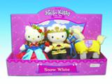 Hello Kitty Snow White Plush Set