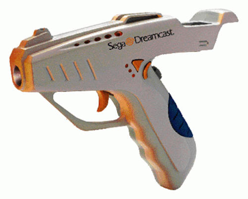 Dreamcast Dream Blaster Lightgun by Mad Catz