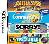 Battleship / Trouble / Connect 4 / Sorry