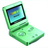 Nintendo Game Boy Advance SP Lime Green Special Edition
