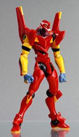 Neon Genesis Evangelion EVA Unit-02 Red Launch Tube Figure