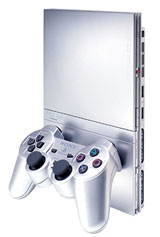Sony Playstation 2 Model 2 Silver Japan Version
