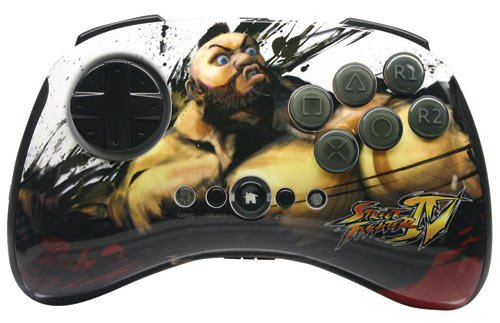 PS3 Street Fighter IV FightPad Round 2 - Sagat