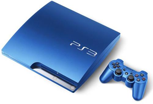 Sony PlayStation 3 Slim 320GB Splash Blue System