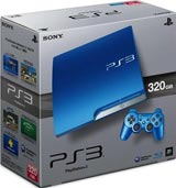 Sony PlayStation 3 Slim 320GB Splash Blue System