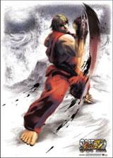 Street Fighter: Ken Uppercut Fabric Poster