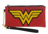 DC Comics Wonder Woman Clear Envelope with Wristlet