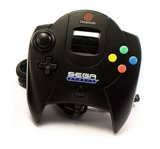 Dreamcast Sega Sports Controller Black
