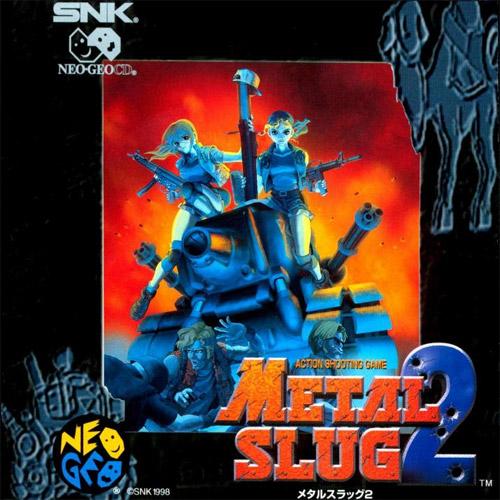 Metal Slug 2 Neo Geo CD