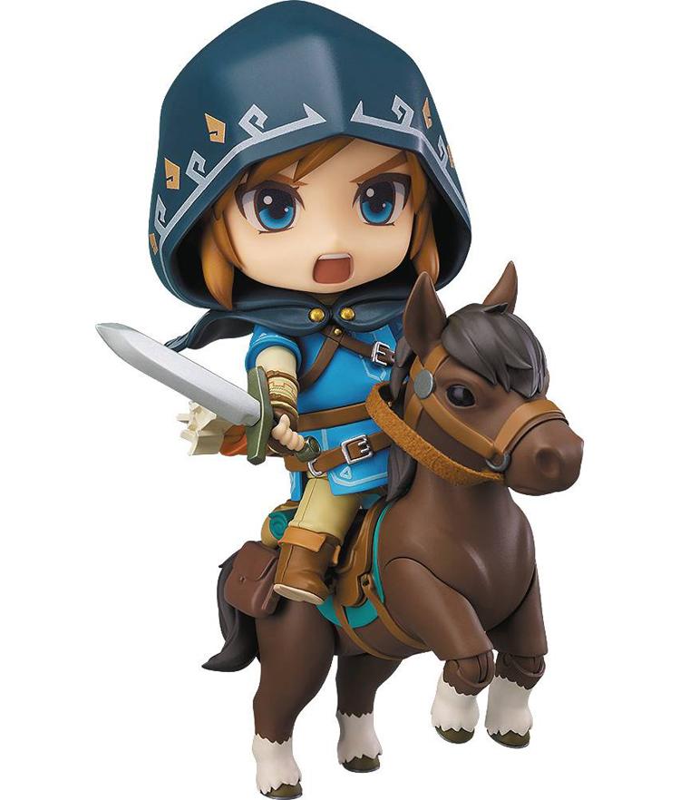 Legend of Zelda Breath of the Wild Link Deluxe Nendoroid