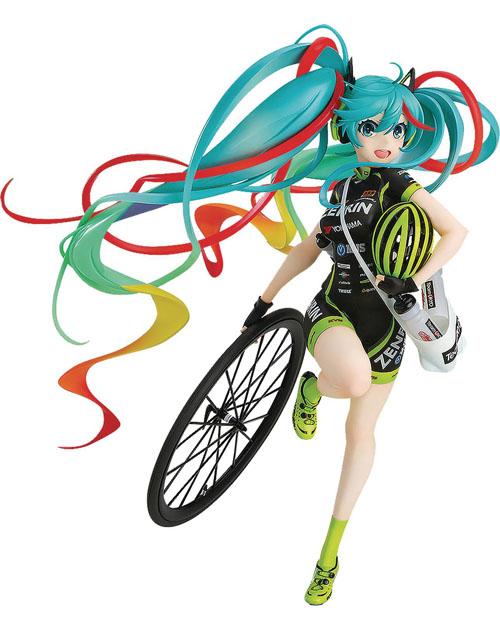 Hatsune Miku Racing Miku Team Ukyo Version 1/7 Scale Figure
