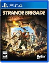 PS4 Strange Brigade boxart