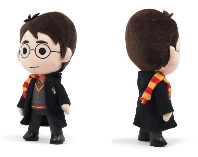 Harry Potter Q-Pal Plush side and back view