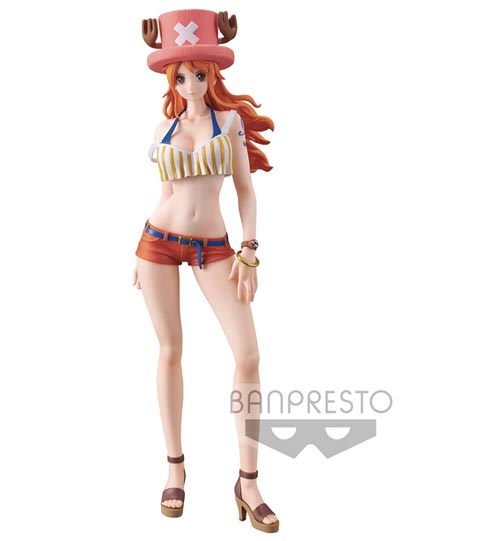 One Piece Sweet Style Pirates Nami 9 Inch Figure Dark Color Version