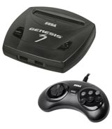 Sega Genesis Model 3 Refurbished System - Grade A