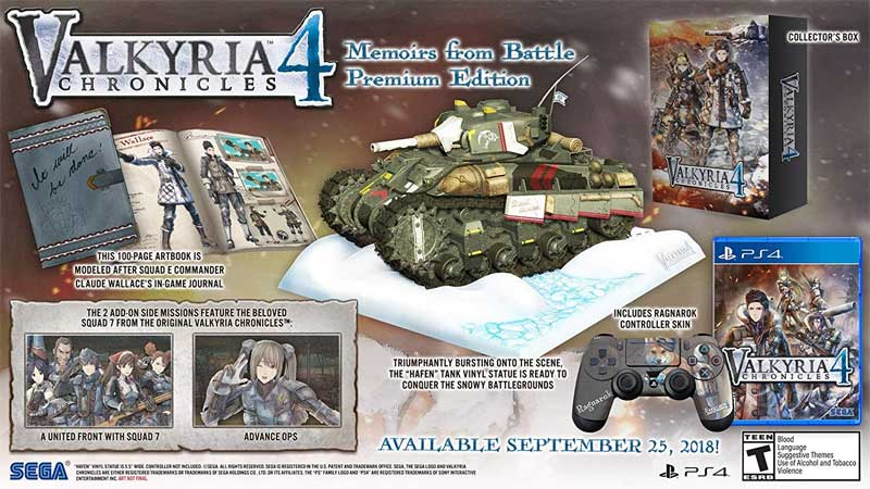 Valkyria Chronicles Memoirs From Battle Edition bonus material