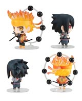 Naruto: Naruto & Sasuke Chimimega Buddy Series 2 Piece Set