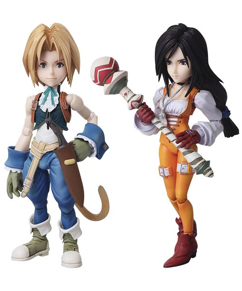 Final Fantasy IX: Bring Arts Zidane & Garnet Action Figure Set