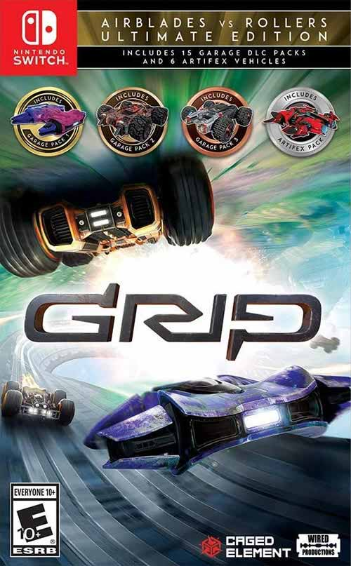 Grip: Combat Racing Airblades vs Rollers Ultimate Edition
