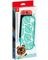 Nintendo Switch Carrying Case Animal Crossing: New Horizons Aloha Edition & Screen Protector