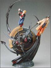 Final Fantasy VIII: Zell, Irvine & Diabolus Resin Statue