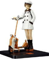 Renji Murata: PSE Pro Collection Skipper w/ Motor Scooter PVC Statue