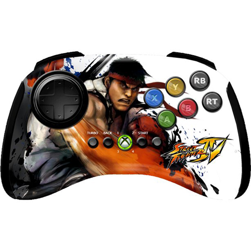 Xbox 360 Street Fighter IV FightPad - Ryu