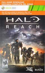 Halo Reach Download Voucher
