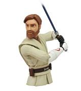 Star Wars Clone Wars Obi-Wan Vinyl Bust Bank