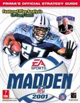 Madden NFL 2001 Official Strategy Guide