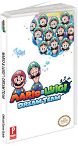 Mario & Luigi Dream Team Official Strategy Guide