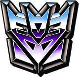 Transformers Decepticon Logo Magnet
