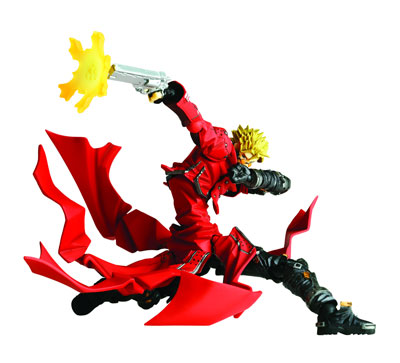 Revoltech Yamaguchi Action Figure #091: Trigun Vash the Stampede
