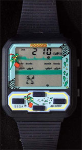 Frogger Game Watch