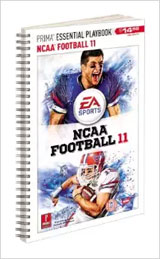 NCAA Football 11 Prima Essential Playbook