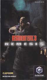 Resident Evil 3: Nemesis Instruction Manual