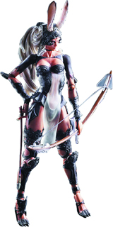 Final Fantasy XII Play Arts Kai Fran Action Figure