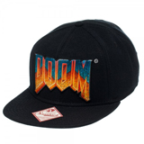 Doom Logo Black Snapback
