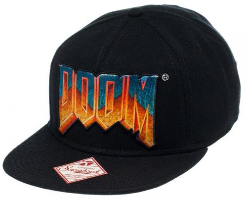 Doom Logo Black Snapback