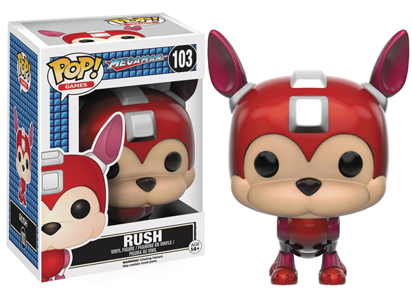 Pop Games Megaman Rush Vinyl Figure