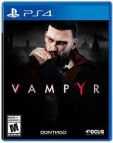 PS4 Vampyr  Boxart