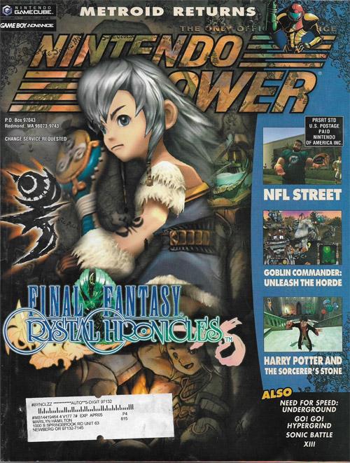 Nintendo Power Volume 177 Final Fantasy Crystal Chronicles
