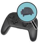 Nintendo Switch Repairs: Pro Controller ZR Button Replacement Service