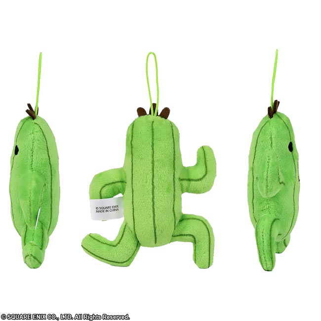 Final Fantasy Mascot Plush Cactuar additional angles
