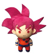 Dragon Ball Super Super Saiyan God Goku 5 Inch Plush